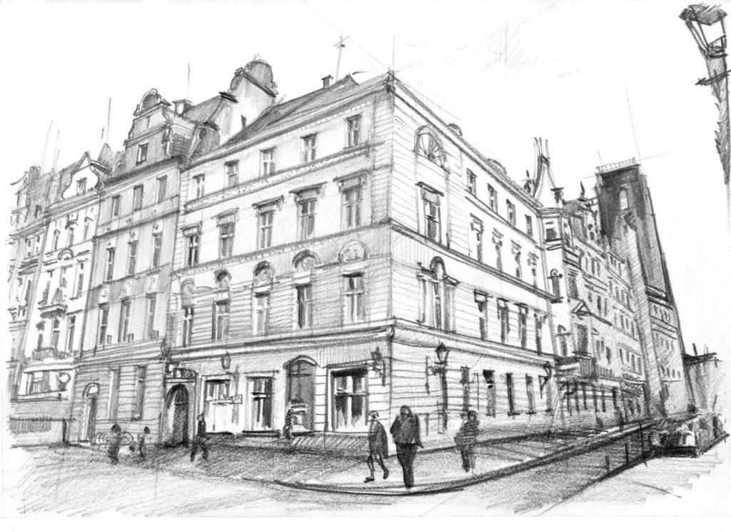 Rysownia - architektura - galeria prac
