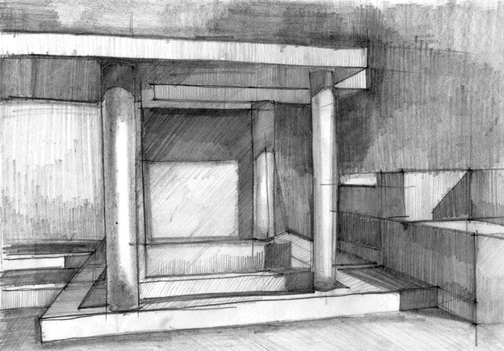 Rysownia - rysunek z wyobraźni
